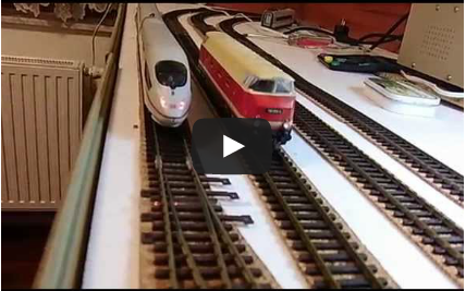 Testing trains with DCC Piko Digi 1